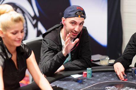 PokerStars Festival Rozvadov €2,200 High Roller: Daniil Kiselev als Chipleader