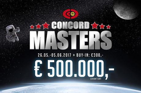 Beim Concord Masters sind € 500.000 garantiert