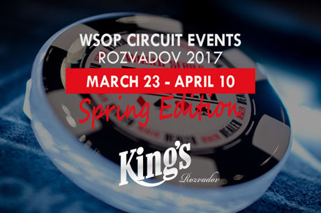 14 Chances to Win a WSOP Circuit Ring at King's Casino