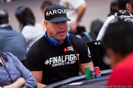 UFC Hall of Famer Tito Ortiz On To Day 2 of PokerStars Championship Panama
