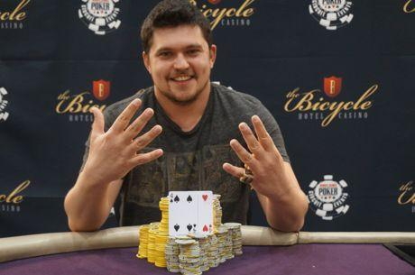 Valentin Vornicu castiga al noualea inel de aur WSOP si ataca recordul mondial de 10 inele