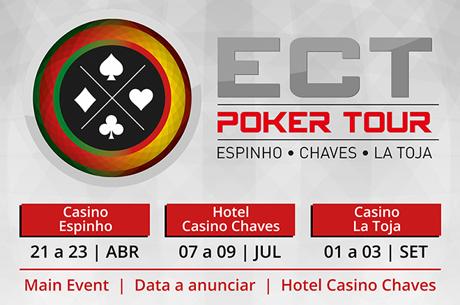 Calendário ECT Poker Tour 2017; Novidades no Ranking