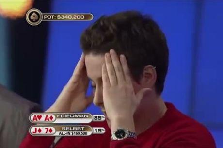 WTF : Quand l'incroyable arrive à une table de poker [vidéo]