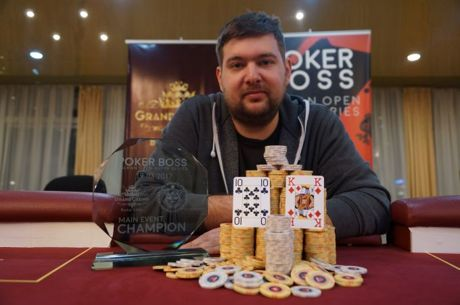 Marinić Igor Pobjednik Poker BOSS Main eventa.