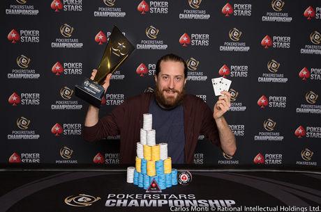 Steve O'Dwyer Vence High Roller $10k PokerStars Championship Panamá ($240,451)