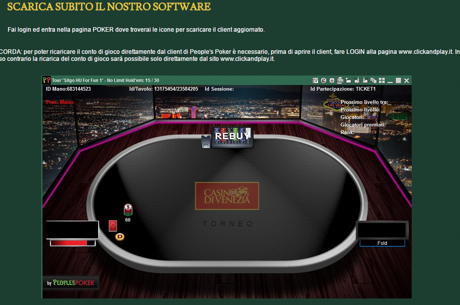 Nuova Piattaforma Di Poker Su Clickanplay.It
