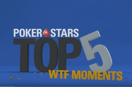 "[VIDEO] - De top vijf ""WTF""-momenten bij PokerStars"