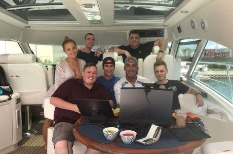 Bill Perkins, Poker Streamers Set Sail to Virgin Islands