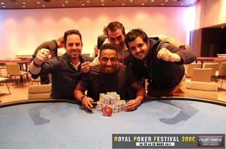 Royal Poker Festival : Martins Correia Varela triomphe à Mandelieu pour 21.518€