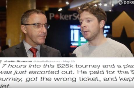Poker Video Rückblick: Für $125 irrtümlich das $25K gespielt