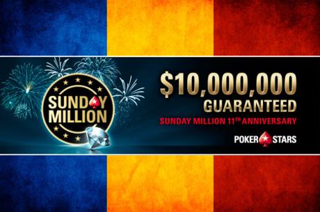 Sunday Million: Xavi666 refuza dealul si castiga 1.093.205$. Bilantul romanesc in turneu