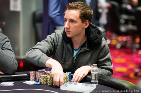 Michael Egan Finds Late Surge to Bag Day 1 Chip Lead