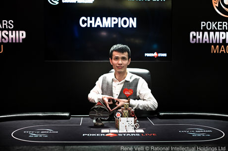 Quan Zhou Wins HK$206K Single-Day High Roller in PokerStars Championship Macau