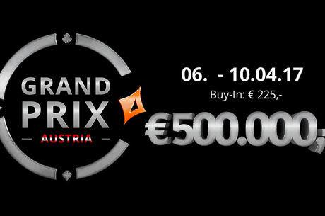 € 500.000 warten beim partypoker Grand Prix Austria