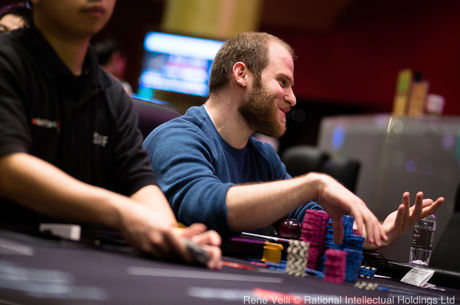Sam Greenwood Leads After Day 1 of the Pot-Limit Omaha High Roller in Macau