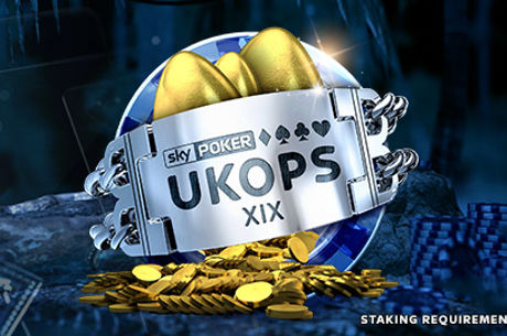 Guarantees To Top £250,000 for Sky Poker UKOPS XIX
