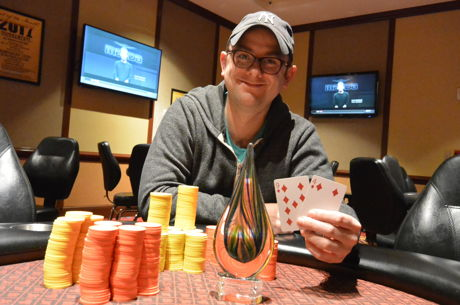 Nick Zinter Wins Seneca Poker's WNYPC First Wednesday Event