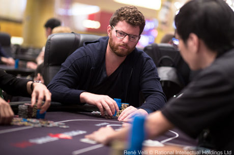 Nick Petrangelo Leads After Day 1 of HK$103K High Roller in Macau