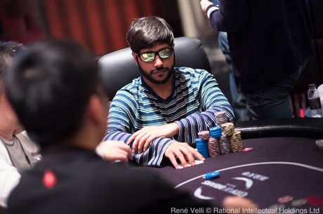 Raghav Bansal Leads With 8 Remaining at HK$103K High Roller in Macau
