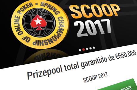 Main Event SCOOP 2017: Hoje Estão €100,000 em Jogo na PokerStars.pt