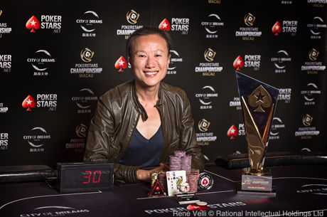 Sosia Jiang Wins the PokerStars Championship Macau HK$103K High Roller