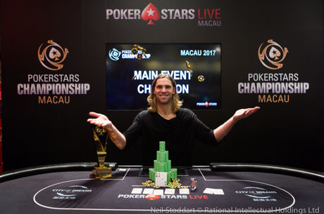Elliot Smith Wins the PokerStars Championship Macau Main Event