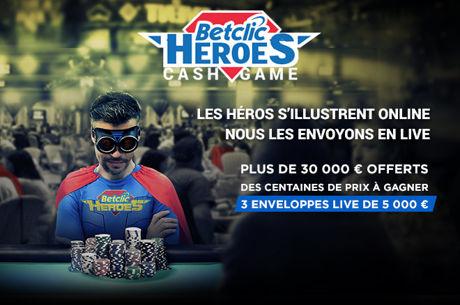 BetClic : Devenez un Héros et prenez votre part des 31.000€