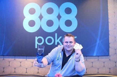Krzystof Pregowski gana 888Live Easter Edition