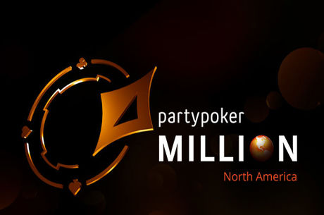 The partypoker MILLION North America Main Event Guarantees CA$5 Million