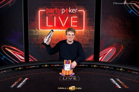 """""""PartyPoker LIVE Millions"""": WSOP finalininkas V.Ruzicka laimėjo £10,300 įpirkos """"High..."""