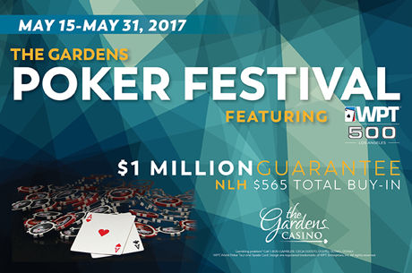 The Gardens Poker Festival Leads Into WPT500