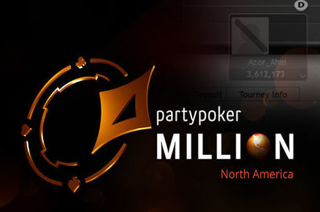 """Azor_Ahai"" Leads partypoker MILLION North America After Online Day 1a"