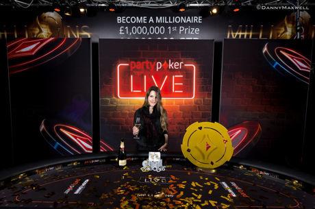 Maria Lampropulos wint partypokerLIVE Millions voor £1.000.000, Schoonbrood sterkste in...