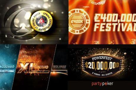 Четири онлайн фестивала с над 700 турнира и $90М...