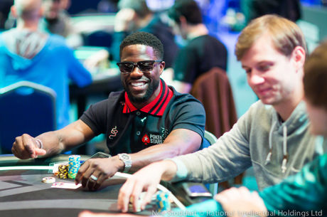 Kevin Hart Survives Day 1 of PokerStars Championship Monte Carlo €100K