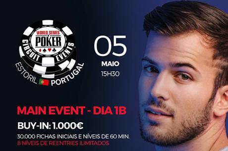Ranking WSOPC Estoril Coloca 12 Jogadores no Main Event; Cantor David Carreira Vai a Jogo