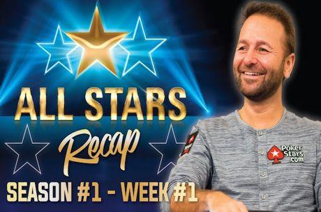 Daniel Negreanu Analisa 20 Melhores Mãos da Semana 1 do All-Stars