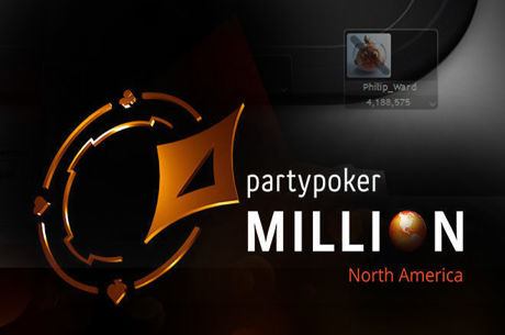 'Philip_Ward' Leads Online Day 1b partypoker MILLION North America