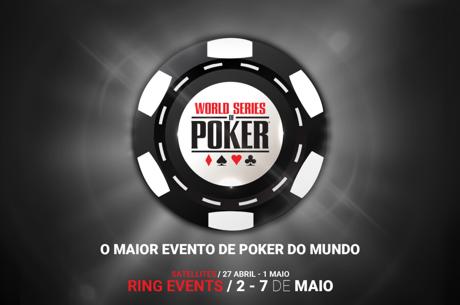 WSOPC Estoril: Arrancam Amanhã pelas 17:00 com o Evento #1 - 6-Máx