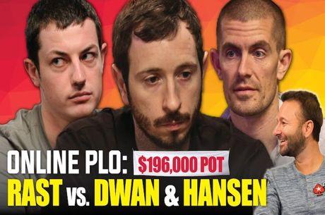 Brian Rast vs Tom Dwan & Gus Hansen em PLO