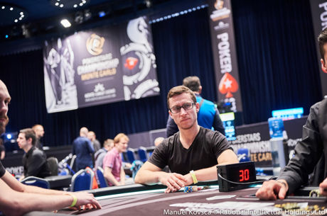 Khoroshenin, Dvoress, Silver Lead After PSC Monte Carlo High Roller Day 1