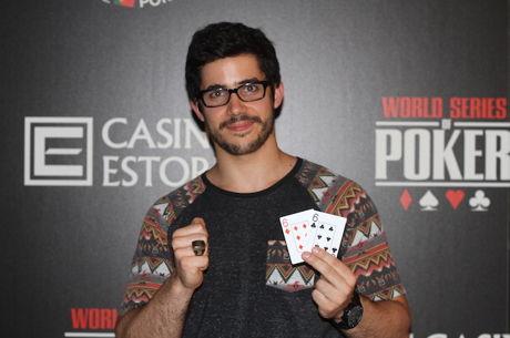 Luis Faria Vence Evento #1 - 6-Máx WSOPC Portugal (€17,983)