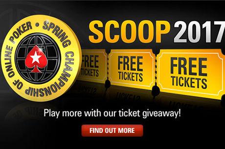 PokerStars пуска 2nd Chance фрийроли със $170,000 в SCOOP 2017 билети