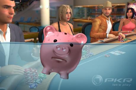 PKR, celebrul site de poker in 3D, e suspendat si se afla in procedura de faliment
