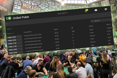 Astazi la 21:00, ultimul mega-sat online pentru Unibet-PokerFest Bucuresti, 10 bilete garantate