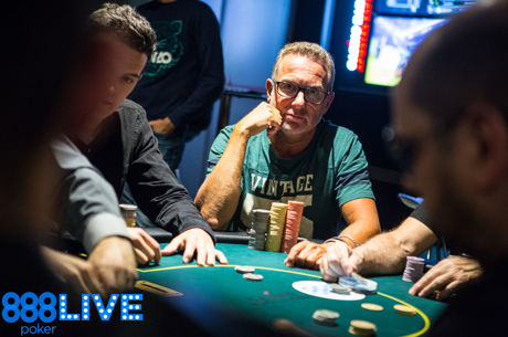 Sergio Alonso Camunas Leads After 888Live Barcelona Opening Event Day 1