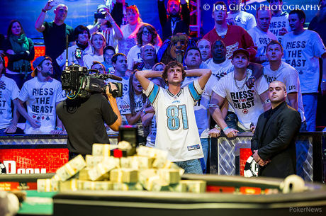 Ryan Riess remporte le Main Event World Series of Poker 2013  (8.361.570$) !