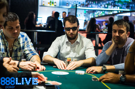 Noble Claims Lead After Day 1b of the 888Live Poker Festival Barcelona