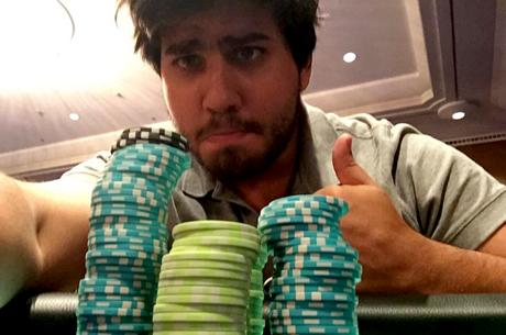 Afonso Palma Ferro Vence The Hot BigStack Turbo €50 & Mais
