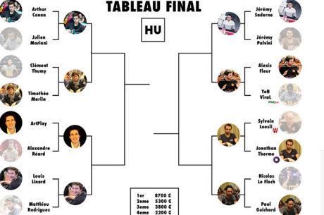 Invitational HU Challenge Romain Lewis : Les quarts de finale en direct sur Twitch